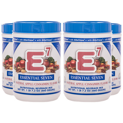 E7® Apple/Cinnamon (4 Canisters)