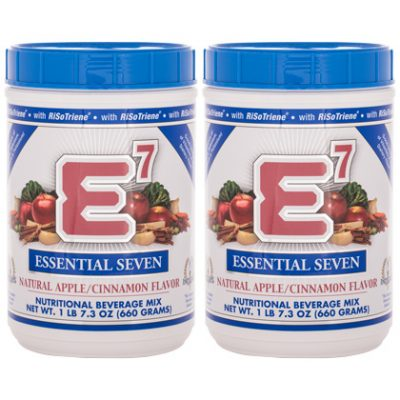 E7® Apple/Cinnamon (2 canisters)