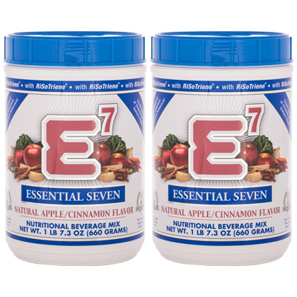 E7® Apple/Cinnamon (2 canisters)