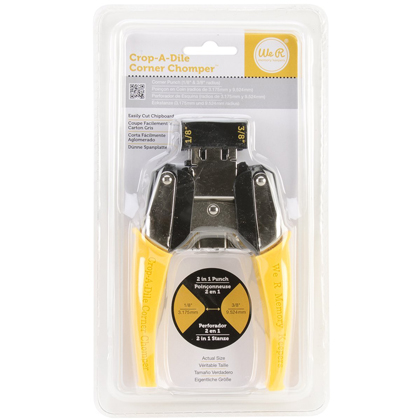 "*50% OFF* CORNER CHOMPER CORNER ROUNDING TOOL, 1/8"" AND 3/8"" (YELLOW) *SALE* WHILE SUPPLIES LAST"