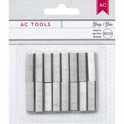 *50% OFF* MINI STAPLER REFILL STAPLES - GRAY *SALE* WHILE SUPPLIES LAST