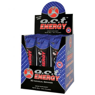 A.C.T. Energy On-The-Go - 1 Box
