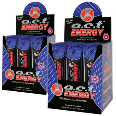 A.C.T. Energy On-The-Go - 2 Boxes