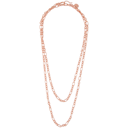 Adrift Rose Gold Necklace