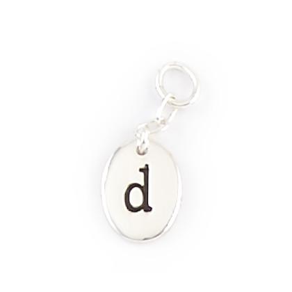 Alphabet Charms - D