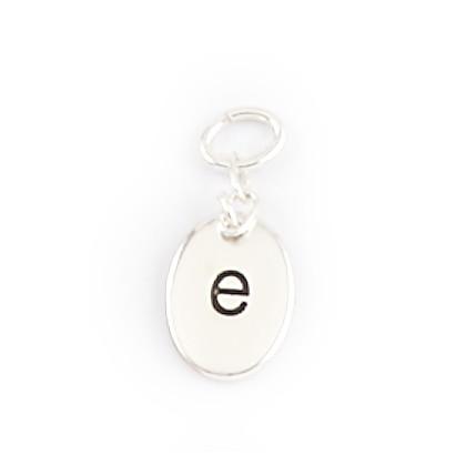 Alphabet Charms - E