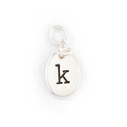 Alphabet Charms - K