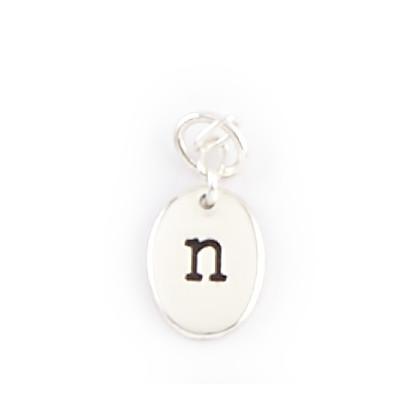 Alphabet Charms - N
