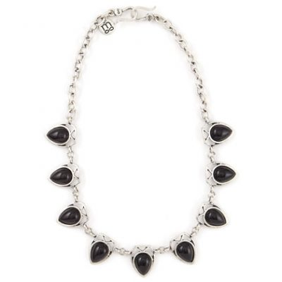 Amour Onyx Necklace