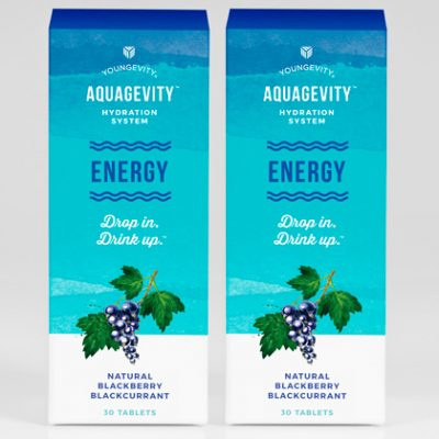 Aquagevity™ Energy Tablets - 30ct Blister (2 Pack)