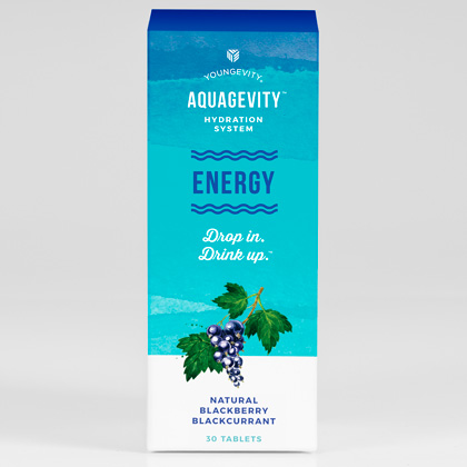 Aquagevity™ Energy Tablets - 30ct Blister Pack