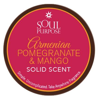 Armenian Pomegranate Mango Solid Scent - 0.5 oz