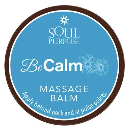 Be Calm Massage Balm - 0.5 oz