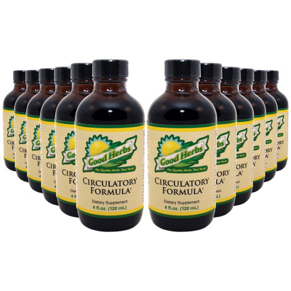 Circulatory Formula (4oz) (12 Pack)