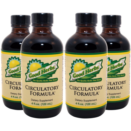 Circulatory Formula (4oz) (4 Pack)