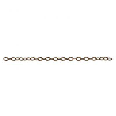 Connector Chain 6¨ - Antique Brass