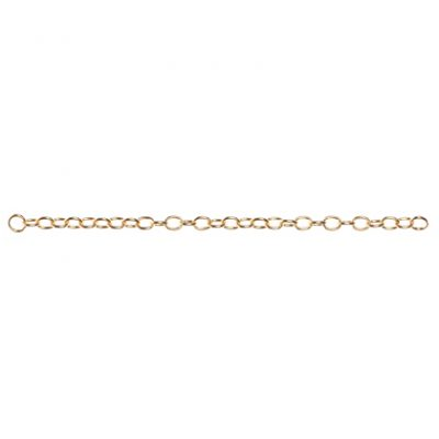 Connector Chain 6¨ - Bright Gold