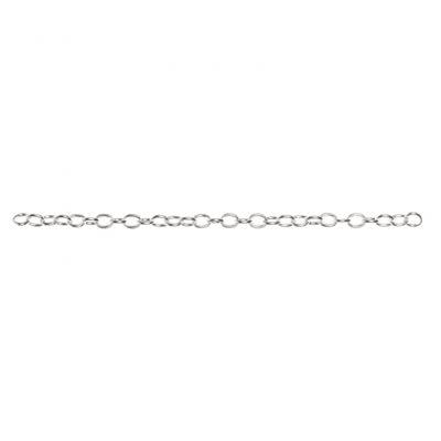 Connector Chain 6¨ - Bright Silver