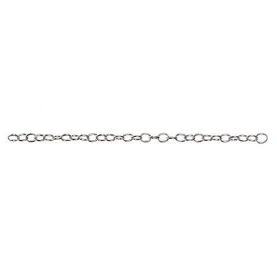 Connector Chain 6¨ - Dark Silver