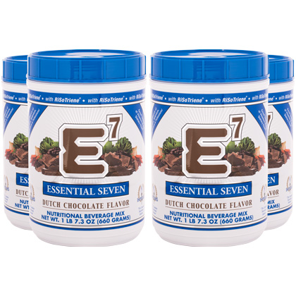 E7® Dutch Chocolate (4 canisters)