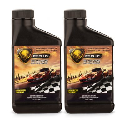 EF PLUS™ Engine Metal Treatment (8 oz) - 2-Pack