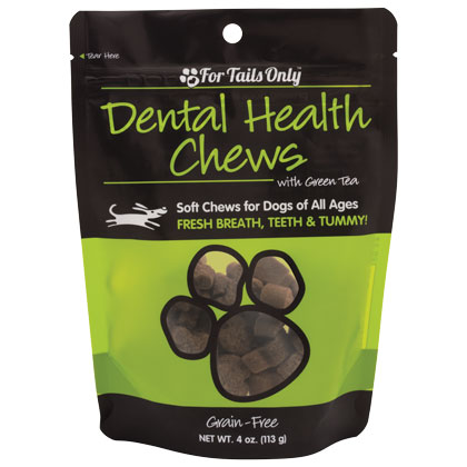 FTO Dental Health Chews for Dogs - 4 oz Bag