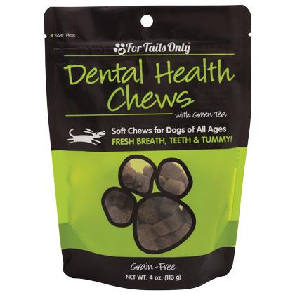 FTO Dental Health Chews for Dogs - 4 oz Bag