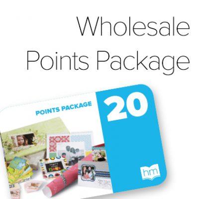 HM 20 Wholesale Publishing Points