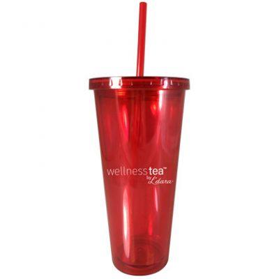 Ice Tea Red Tumbler (20 oz)