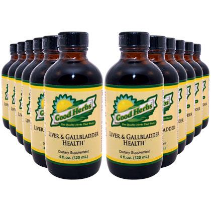 Liver and Gallbladder Health (4oz) (12 Pack)