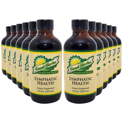 Lymphatic Health (4oz) - 12 Pack