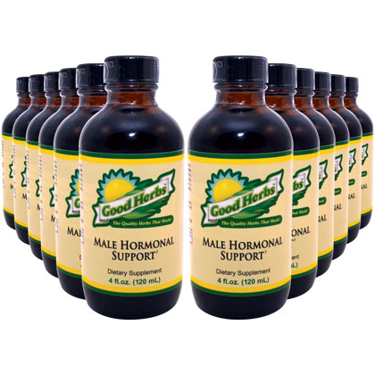 Male Hormonal Support (4oz) - 12 Pack