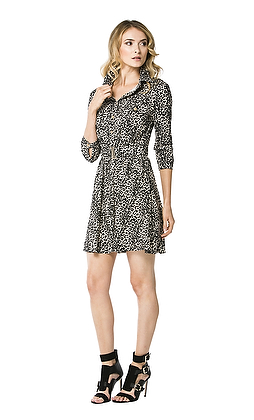 Marisela Safari Dress