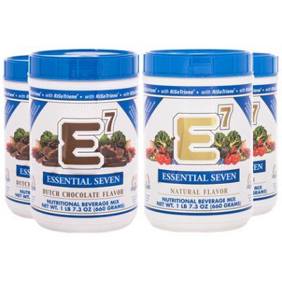 Mixed Case - E7® Dutch Chocolate(2) and E7® Natural Flavor(2)