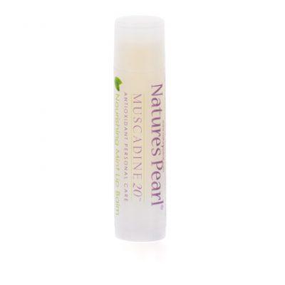 Muscadine 20 Nourishing Mint Lip Balm 5pk