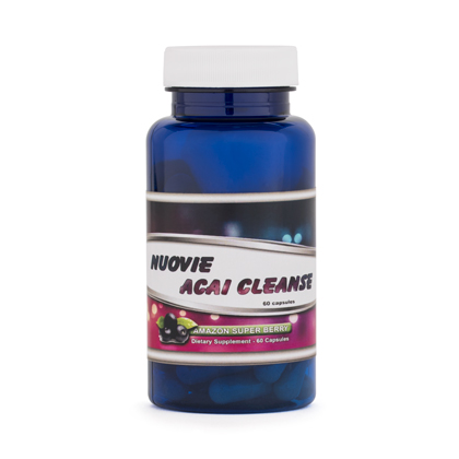 Nuovie Açaí Cleanse (60 Capsules)