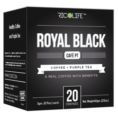 Royal Black Cafe PT 20 Stickpacks