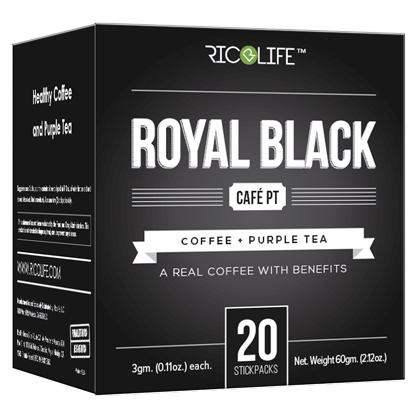 Royal Black Cafe PT 20 Stickpacks