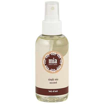 Simply Mia Body Oil Mist - 4 oz