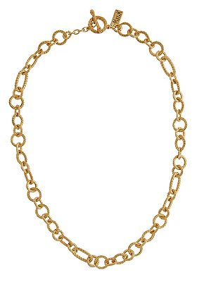 Smart Gold Tone Necklace