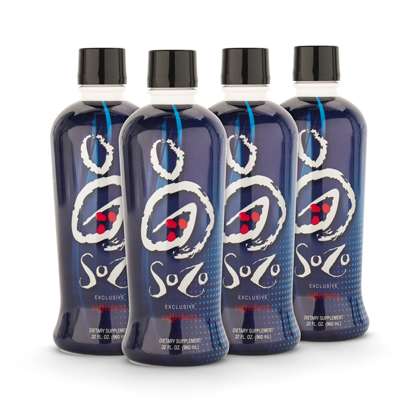 SoZo® Nutritional Beverage (32 oz) - Case of 4