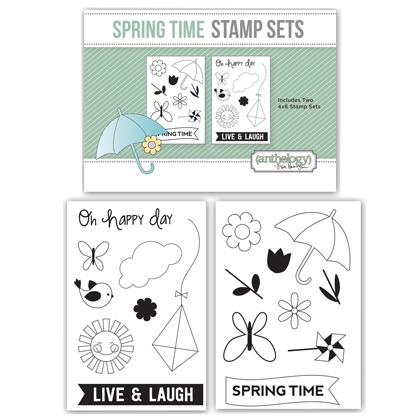 Spring Time Stamp Set