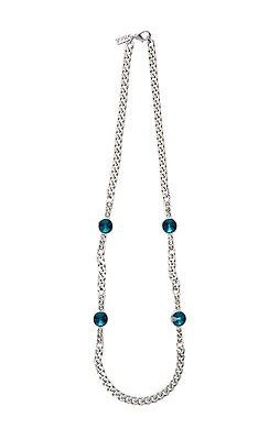 Striking Silver-Tone Necklace