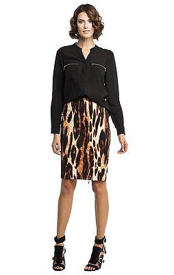 Tammy Leopard Skirt