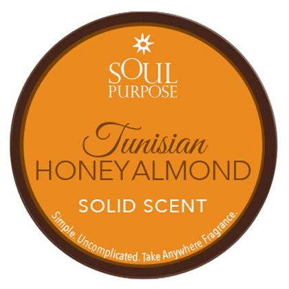Tunisian Honey Almond Solid Scent - 0.5 oz