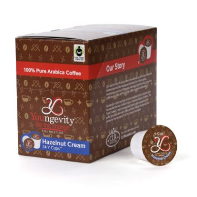 YBTC Coffee Y Cups™ - Hazelnut Cream (24ct)