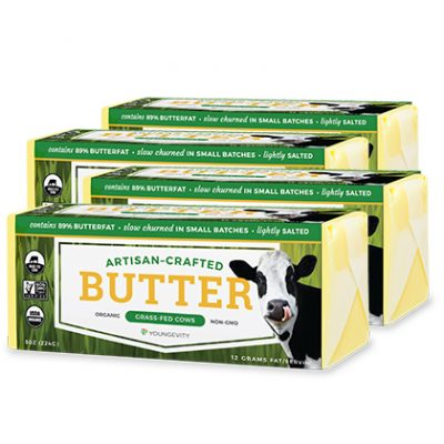 Youngevity® Organic Salted Butter - 4 Pack