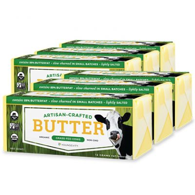 Youngevity® Organic Salted Butter - 6 Pack
